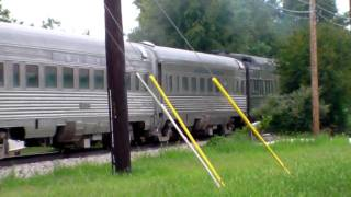 Indiana State Fair Train 2010 HD NKP #426 Departs Fishers August ,14