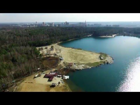 Лыткаринский карьер. Волкуша. Съемки с воздуха. Апрель 2016