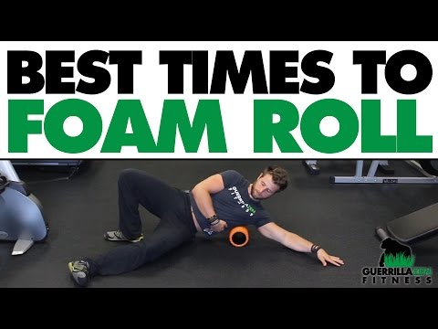 The BEST Time To Use a Foam Roller