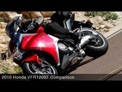 MotoUSA 2010 Honda VFR1200F Comparo