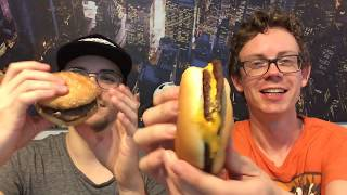 Burger King vs McDonalds: Das Burger Duell - Double Chili Cheese Burger vs McDouble Chili Cheese!