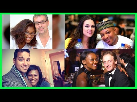 12 Nigerian Celebrities Who Are Married To Foreigners Interracial Couple