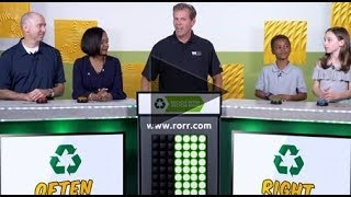 The Recycle Right. Recycle Often Game Show - Earth Day 2018