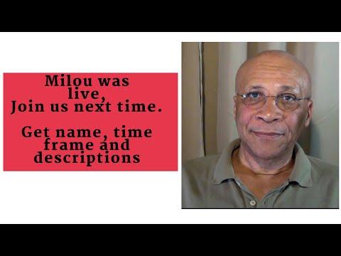 Milou is live 6/22/2018