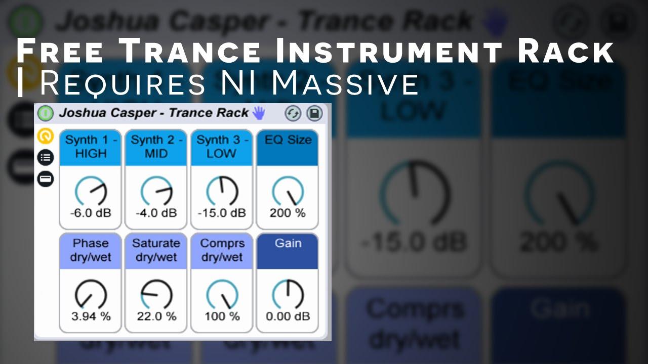 Ableton Trance Lead Instrument Rack Free