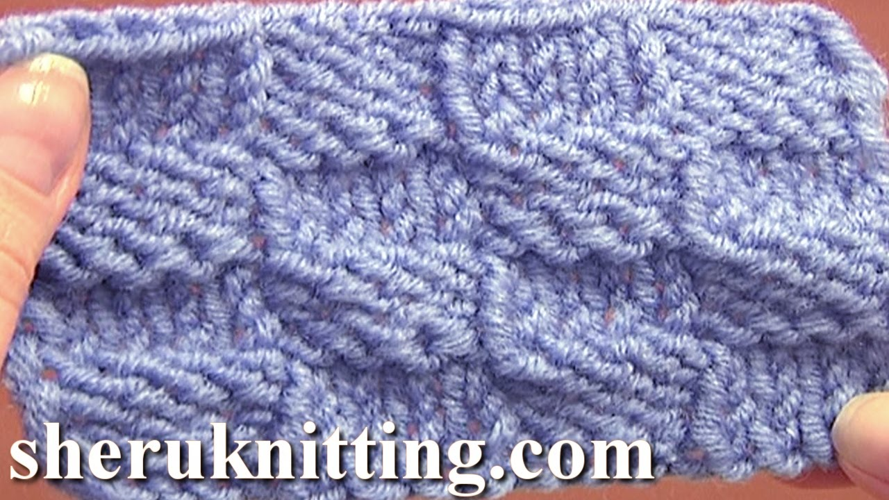 Checkered Knitting Pattern : Knitted Checkerboard Stitch Pattern Tutorial 8 Easy ...