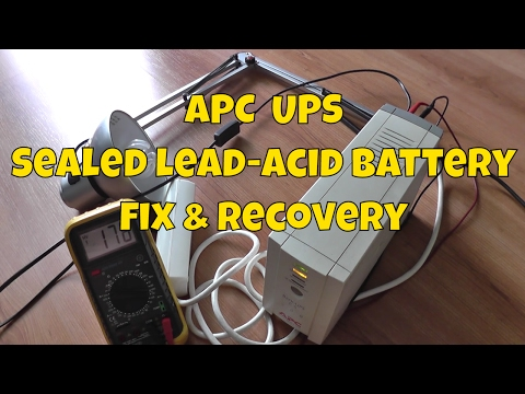 APC CS 500 UPS Battery Fix