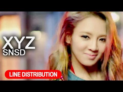 LINE DISTRIBUTION l Girls' Generation