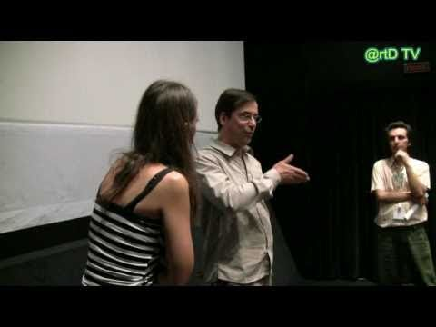 OLIVIER SMOLDERS TALKS TO SPECTATORS 19 9 2010 DANAOS 2 16th ATHENS INTERNATIONAL FILM FESTIVAL OPENING NIGHTS