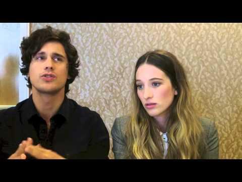 Sophie Lowe and Peter Gadiot talk WONDERLAND