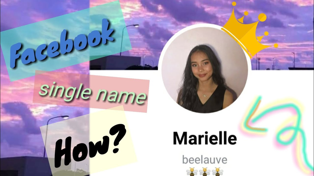 HOW TO SET ONE SINGLE NAME ON FACEBOOK   2020- 2021 ANDROID [ Tutorial ]