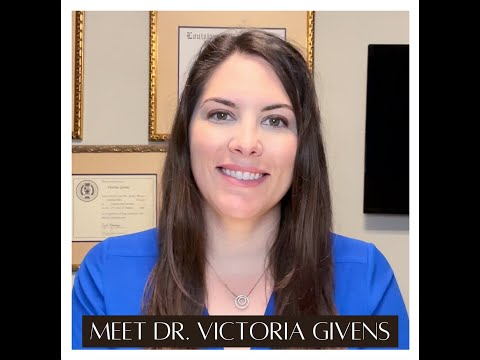 Meet Dr Victoria Givens-- Your Face Expert