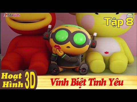 Phim Hoạt Hình Hay Nhất 2018 - VĨNH BIỆT TÌNH YÊU - Binh Đoàn Người Máy T-Buster - Phim Hoạt Hình 3D
