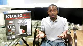 Keurig Hot K155 Commercial Series Coffee Maker Unboxing & Setup