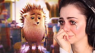 Reacting to the SADDEST CHRISTMAS animations  TRY NOT TO CRY CHALLENGE