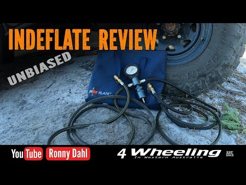 INDEFLATE REVIEW, 4x4 off-road psi device