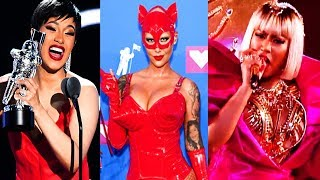 2018 MTV VIDEO MUSIC AWARDS EXPOSED! CARDI B, NICKI MINAJ, MADONNA, JENNIFER LOPEZ (VMA)