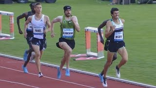 Men's 1500m at Memorial Josefa Odlozila 2019