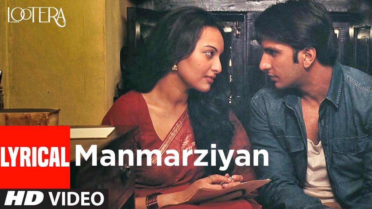 Manmarziyan (Lyrical) | Lootera | Ranveer Singh, Sonakshi Sinha |Shilpa Rao, Amitabh B, Amit Trivedi