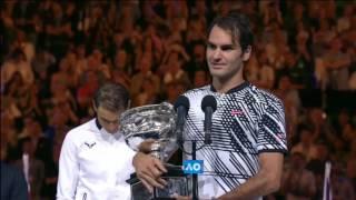 Lección de Valores de Roger Federer Y Rafa Nadal (ojalá se pudiese empatar en el tenis)