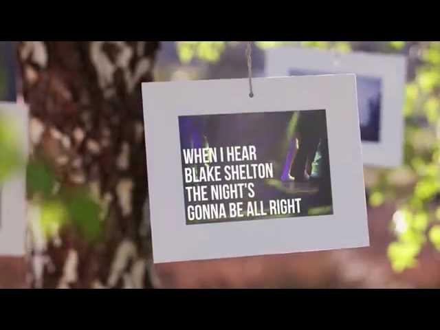 Blake Shelton - Official Lyric Video