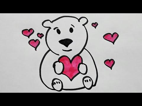 Рисунки раскраска для детей. Учимся рисовать. Рисуем ...