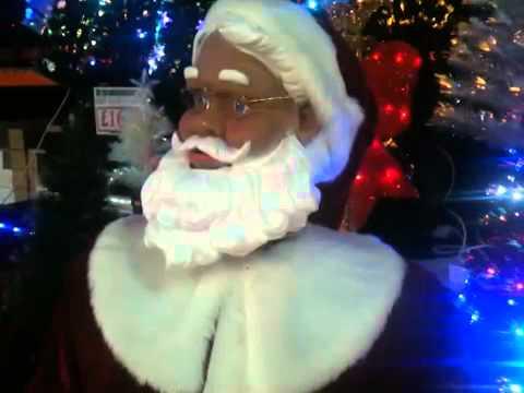 Dancing Singing Life Size Santa