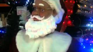 Dancing Singing Life Size Santa