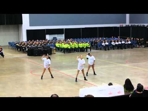 PSJA Memorial High School Dazzlers Officer HipHop Dance at ADTS Competition 2016
