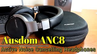Video Ausdom ANC8 - Active Noise Cancelling Bluetooth Headphones for only $60! download MP3, 3GP, MP4, WEBM, AVI, FLV Juli 2018