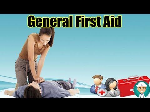 Emergency First Aid - General First Aid