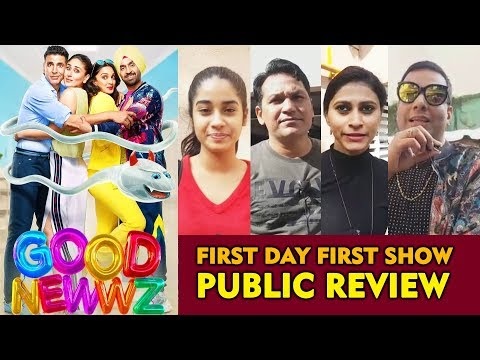 Good Newwz PUBLIC REVIEW | First Day First Show | Akshay Kumar , Kareena Kapoor, Diljit, Kiara