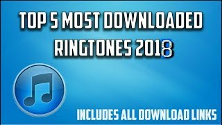 Best Ringtones for 2018 | RINGTONE for Android | Latest Ringtones for mobile | Remix trap