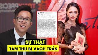 Matt Liu viết tâm thư về Hương Giang giữa scandal, CĐM choáng váng khi biết sự thật bị VẠCH TRẦN ▻ ĐĂNG KÝ MIỄN PHÍ: http://bit.ly/Tintucshowbiz ✪ Tin ...