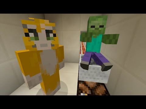 Minecraft Xbox - Cave Den - Zombie Pinball (3)