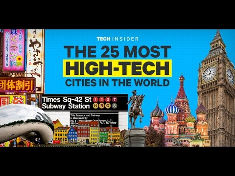 Top 25 high-tech cities in the world/include Bangalore electronic city