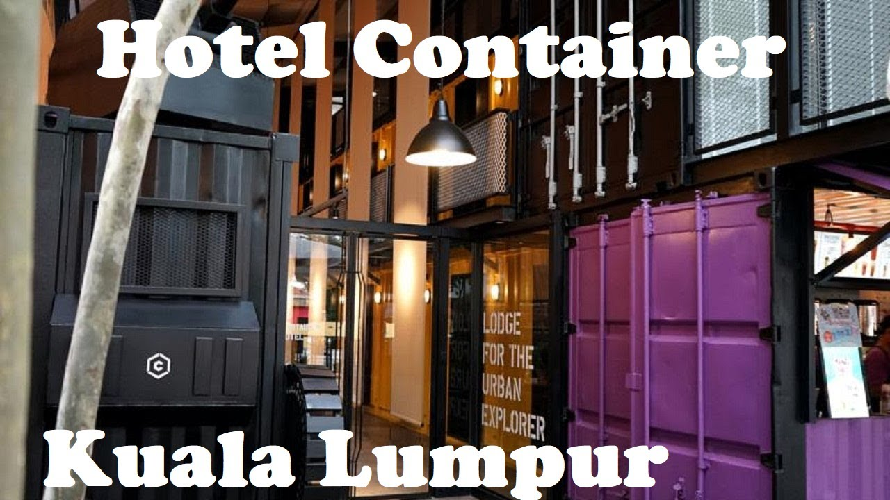 Amazing Container Hotel. Kuala Lumpur Malaysia | Video