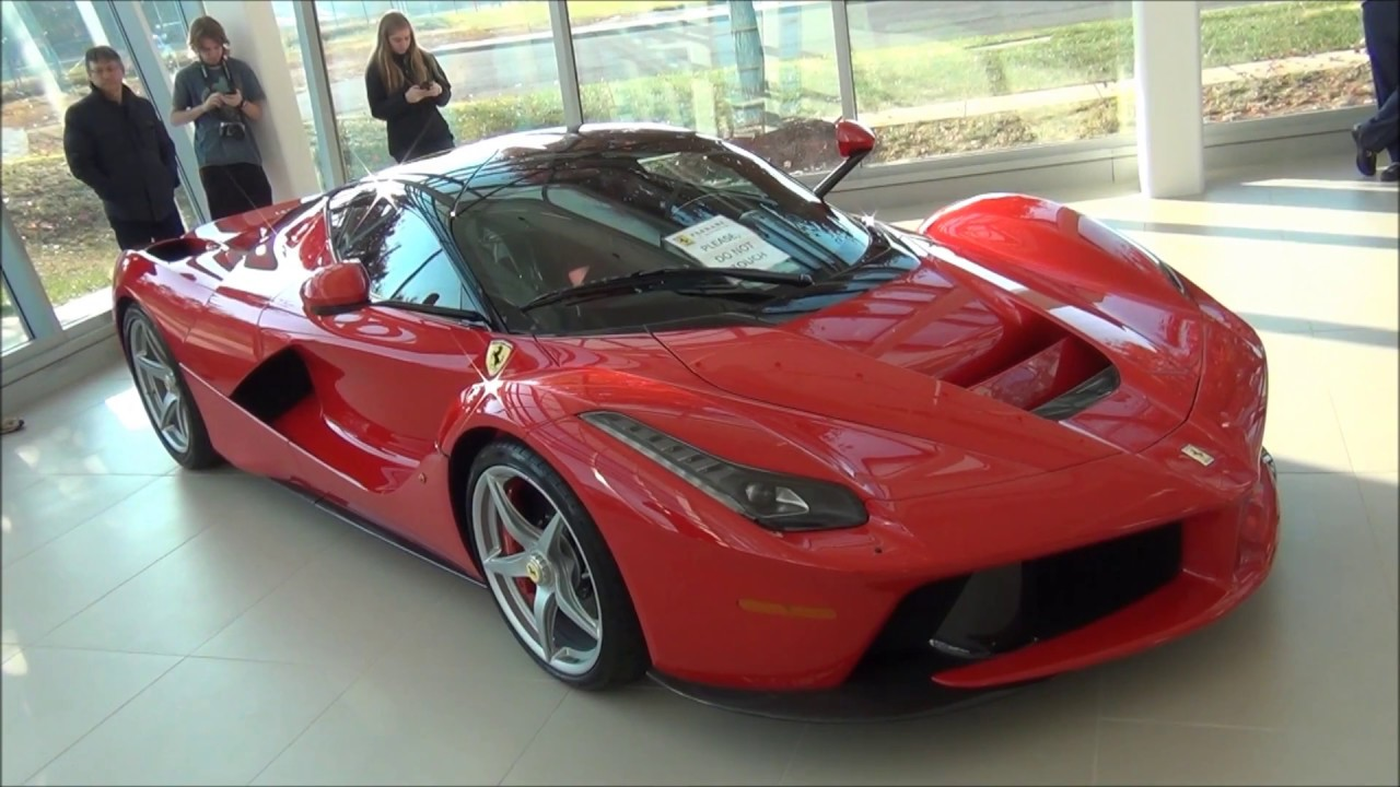 FERRARI LAFERRARI // Ferrari Of Washington DC - YouTube