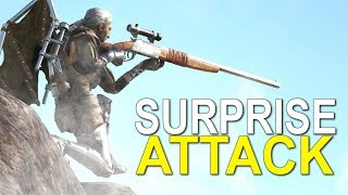 LUCKY LOOT SURPRISE ATTACK - ARK:SURVIVAL EVOLVED (SOLO GUERRILLA OFFICIAL 6 MAN)  EP.4
