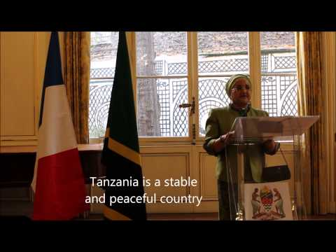 Ambassador Taj Adresses to Diplomatic Corps in Paris