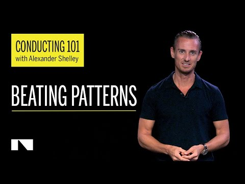 Conducting 101 with Alexander Shelley Part 3/6 (Beating Patterns)