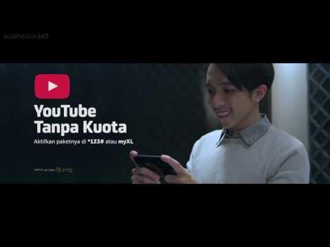 Iklan XL YouTube Tanpa Kuota dengan Paket Xtra Combo, Tara Basro 30sec (2017)