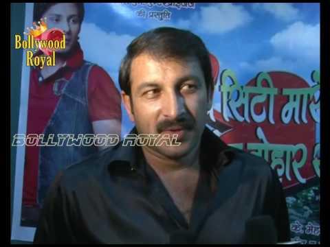 Manoj Tiwari & Utam Kumar at Mahurat of Bhojpuri film 'Gajab Siti Maare Bhayia Tohar Saali' Part  2