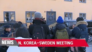 Swedish, N. Korean FMs wrap up talks; Finland to host track 1.5 meeting