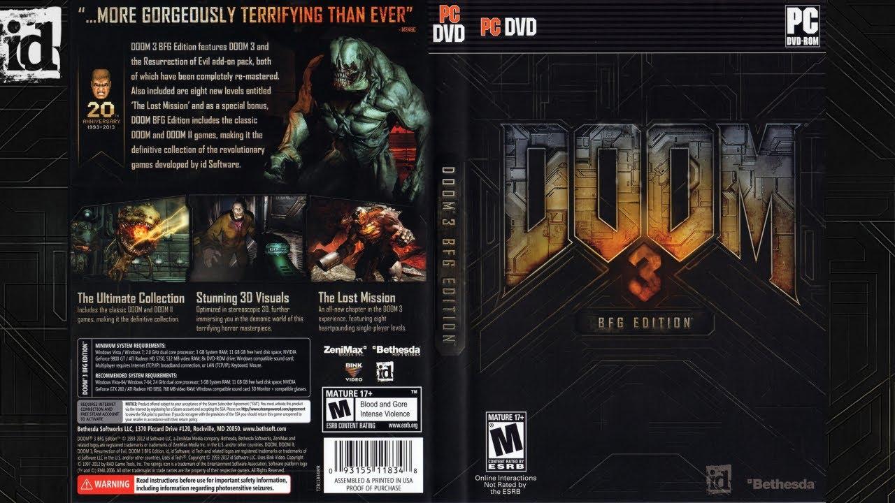 Doom 3:bfg edition pc game repack phoenixel.