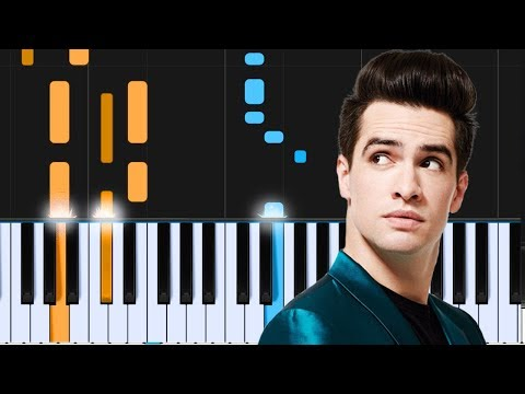 """Panic! At The Disco - """"Dying In LA"""" Piano Tutorial - Chords - How To Play - Cover"""