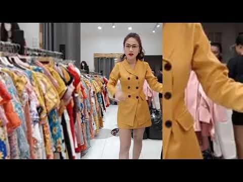 Gái Xinh Live stream bán quần áo online thay đồ trực tiếp trên mạng | Part 2