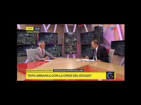 """Mariano Rodríguez Otero en """"TN Internacional"""" sobre Cataluña"""
