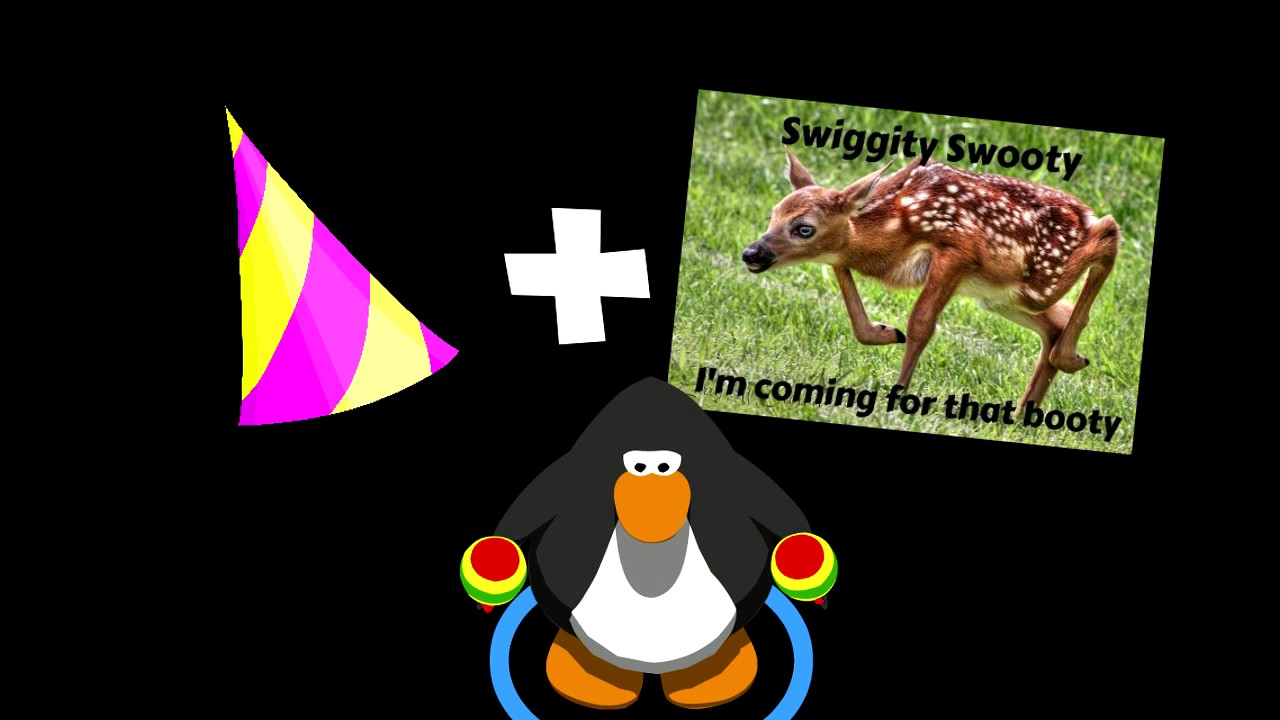 Club Penguin Anniversary Party Swiggity Swooty Youtube