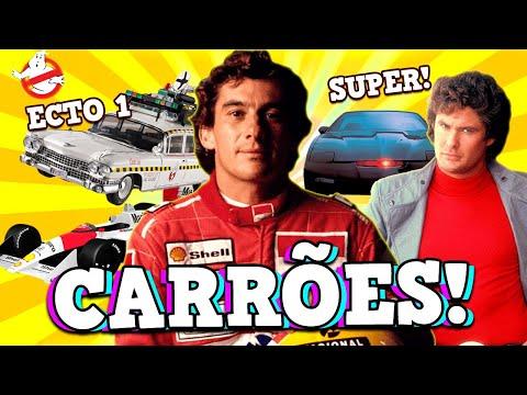 Carros que apareciam na TV nos ANOS 90 e deixam as crianças MALUCAS!